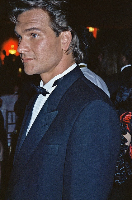 "Patrick Swayze  Who can forget the first time you saw his rear in ""Roadhouse""??!!??"