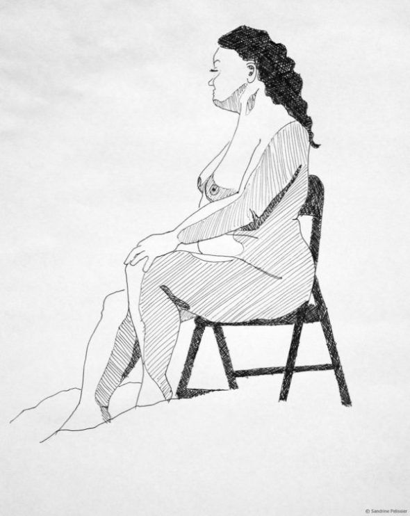 The perfection of imperfection - ARTiful: painting demos  Drawing by Sandrine Pelissier