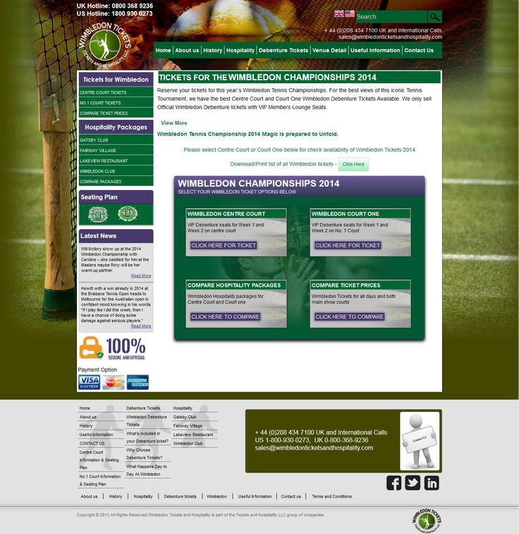 View more wimbledon tennis championships 2014 from http://www.wimbledonticketsandhospitality.com
