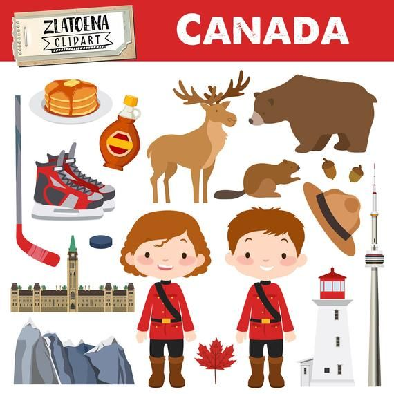 Canada Clip Art Canadian Clipart Canada Graphics Maple Syrup Moose Clipart Deer Bear Beaver Clipart Hockey Clipart Hockey Graphics Toronto Beaver Clipart Moose Clipart Clip Art