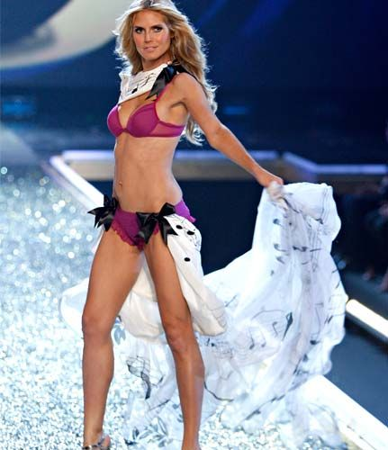 heidi klum 431 Project Runways Heidi Klum and Her Celebrity Workout workout routines exercises celebrity workouts