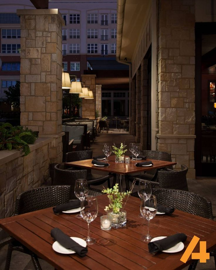 Staying on the restaurant theme here's a view of one of the outside patio areas of a Devon restaurant (AKA The Bristol) for @Houlihans. Nothing like a great pre-dawn shoot to get you up and running in the morning. In addition to the restaurant lighting we utilized a couple of dozen Lowel lights to accent the tables and environment perfectly. #AlistairTutton #KansasCity #architecture #photography #fb #canon #architecturalphotography #lowellights