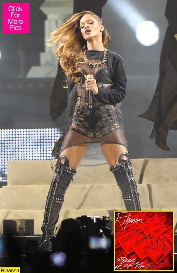 Rihanna Releases Pour It Up Remix Listen Rihanna