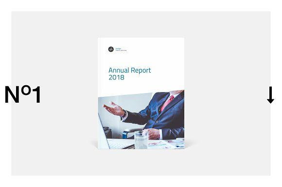Annual Report by silukEight on @creativemarket