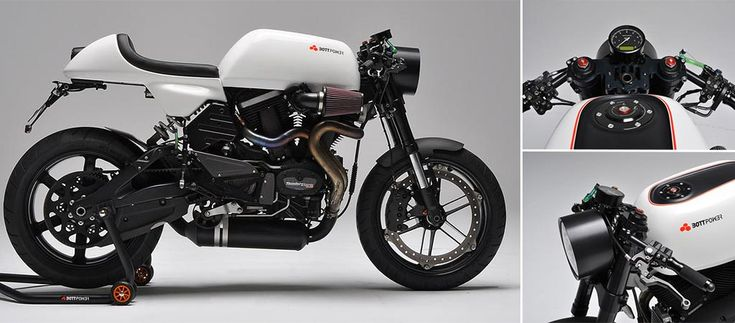 Bottpower XC1 A Buell Cafe Racer On Steroids