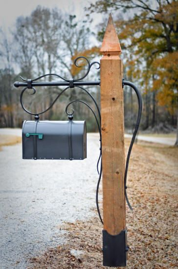 Mailbox Posts Metal In Farmhouse Mailbox Google Search Braatebarry In 2018 Pinterest Mailbox Mailbox Post And Home