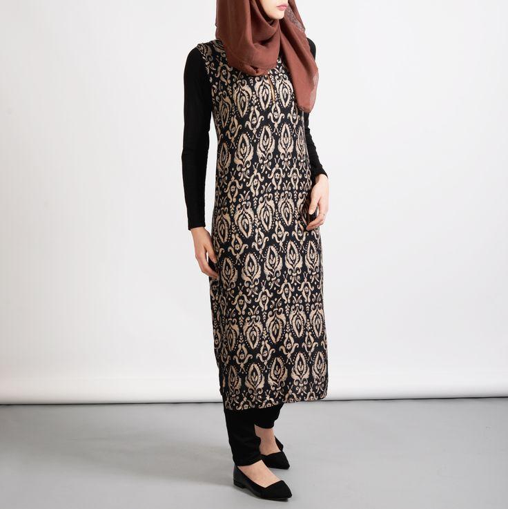 O L I V I A – #Biah #abaya #hijab #ootd #midi #sleeveless