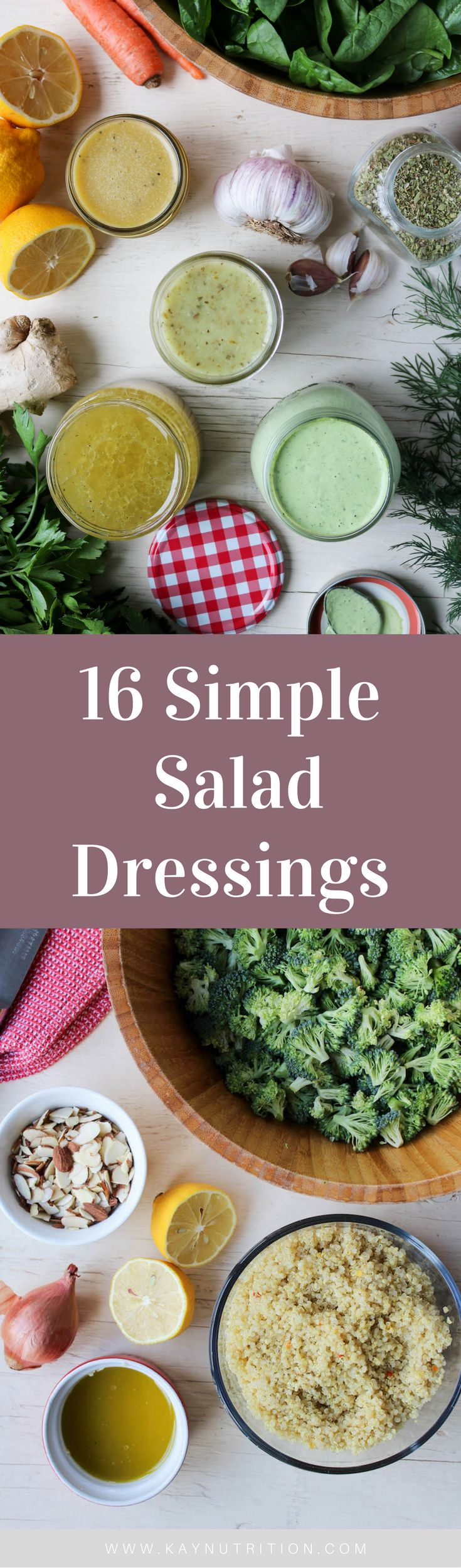 This Simple Salad Dressings eBook contains 16 dressing recipes that are incredibly quick and easy to prepare while being rich and full of flavour.