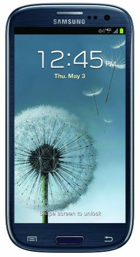Samsung Galaxy S III, Blue 16GB (Verizon Wireless) Display: 4.8-inches. Camera: 8-MP. Processor Speed: 1.5 GHz. OS: Android 4.1 (Jelly Bean).  #Samsung #Wireless