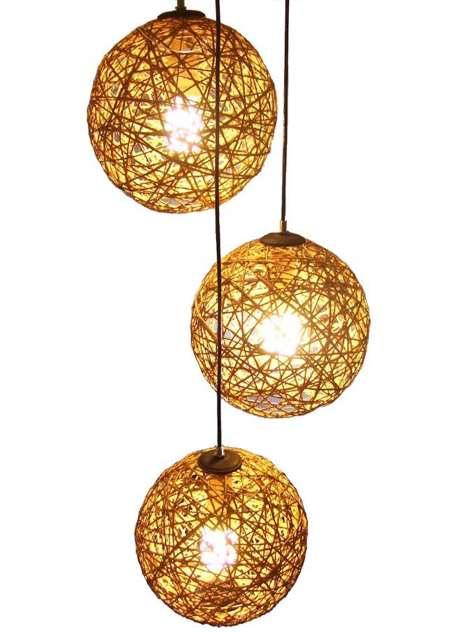 lampara colgante de tres 676 902 lamparas On lamparas para cenadores