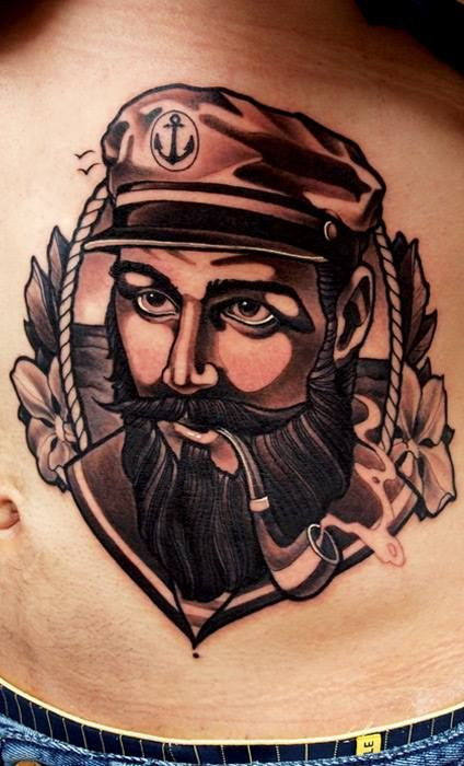 Sailor tattoo zeugs pinterest sailor tattoos tattoo for Traditional navy tattoos