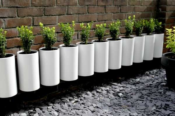Macetas De Pvc Pvc Single Tube Planters | Dyi | Jardín De Botellas
