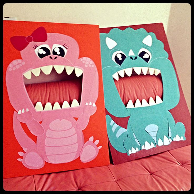 excellent for photobooth dinosaur theme. handcrafted by yours truly for my son's 1st bday