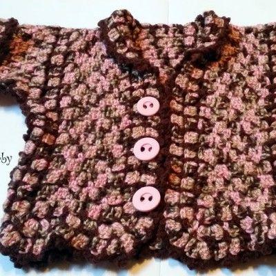 Puloverček, ročno pleten
