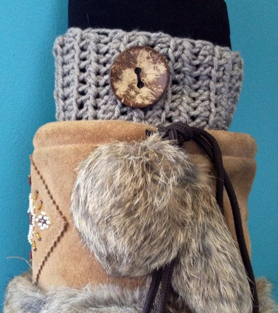 Crochet Ribbed Boot Cuffs Boot Toppers  Sandy by KnotSewKrazy, $24.99