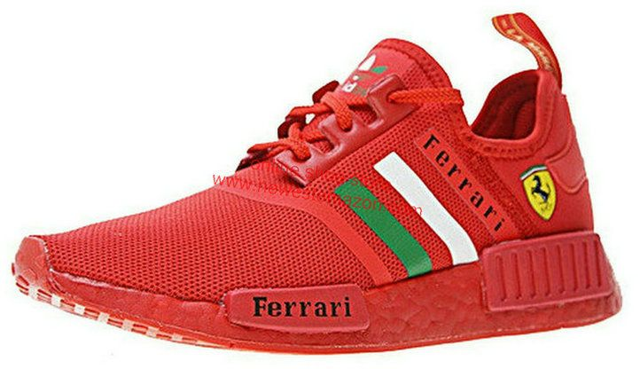 67c82984e359f Duty-Free Ferrari X Adidas NMD R1 Boost Custom Running Triple Red Ba7788  For Sale Shoe