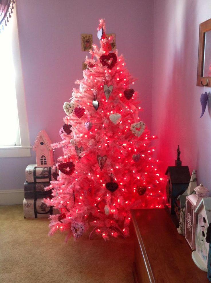 Valentine Christmas Tree Decorations Holliday Decorations