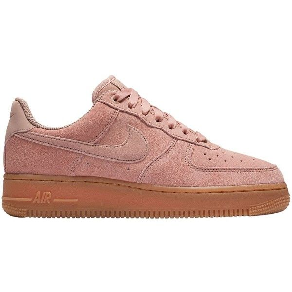 Nike Women Air Force 1 Suede To Gum Sneakers ($140) ❤ liked ...