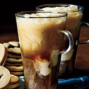 Black Cauldron Drink Recipe (vanilla ice cream, vodka, espresso, and oatmeal stout