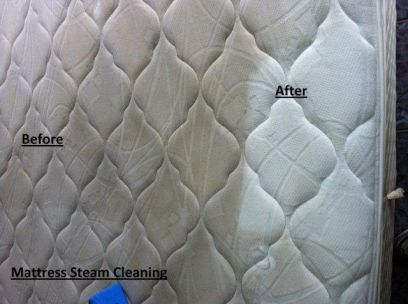 Our Deep Steam Mattress Cleaning service