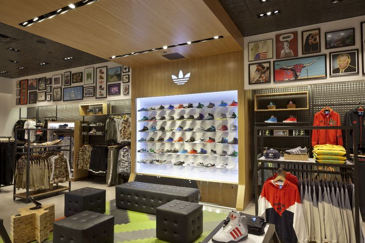 Sports Store | Retail Design | Shop Interior | Sports Display |