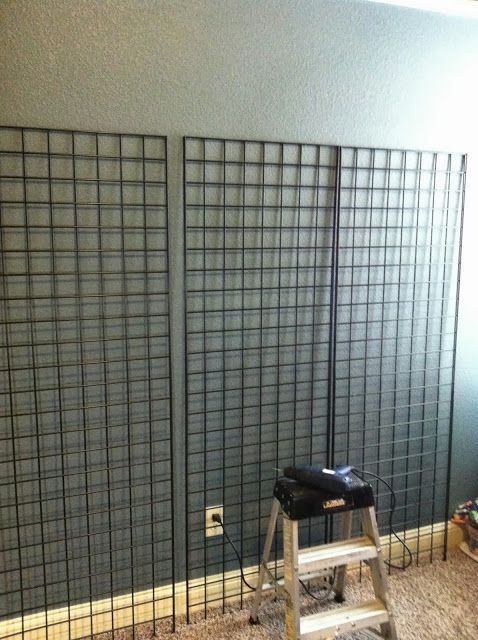 Nerf Gun Wall - Boys Preen Bedroom