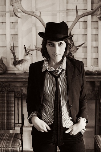 The beauty of black and white. Sara Bareilles, my kinda people