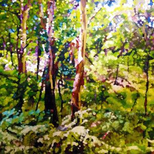 'Clearing' - Original Painting by David Isbester