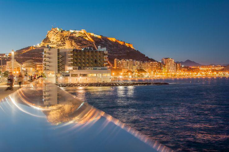 Ночной Аликанте #Alicante, #Spain