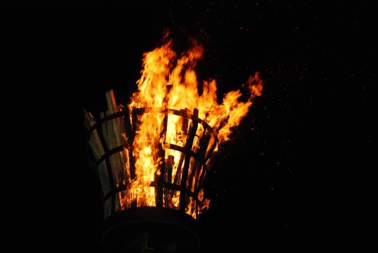 Queens Jubilee Beacon #mike1242 #queenjubilee #2012 #fire