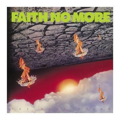 "L'album dei #FaithNoMore intitolato ""The Real Thing"" su vinile."