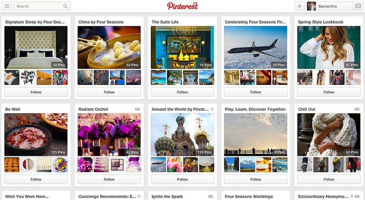 Four Seasons' Pinterest Strategy Is Focused on Inspiration, Not Bookings