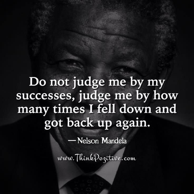 Do Not Judge Me By My Success
