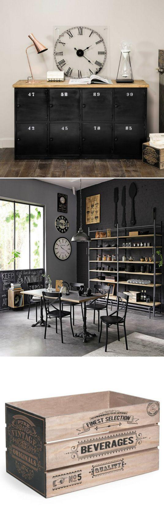 On aime la caisse de rangement Finest Selection de Chez Maisons du Monde ! Pour ranger tout en style...