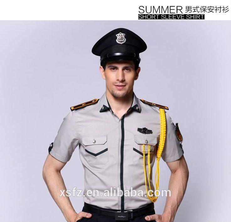 21 best security guard uniform shirts images on pinterest for Uniform shirts for men