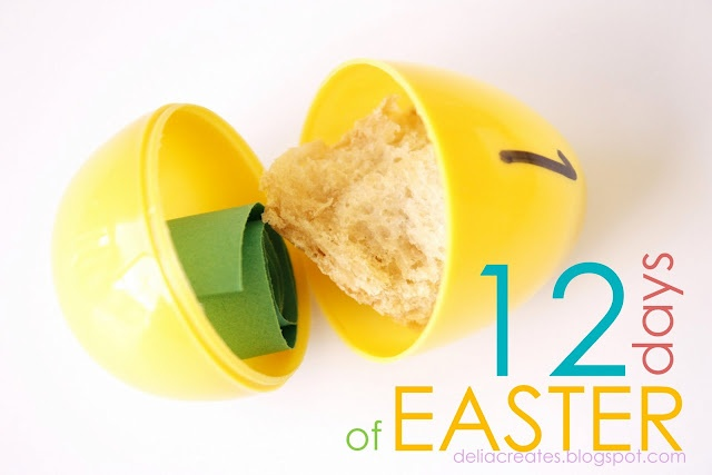 12 Days of Easter   Sharing Time Idea