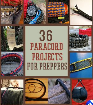 DIY paracord projects to prep for disasters.