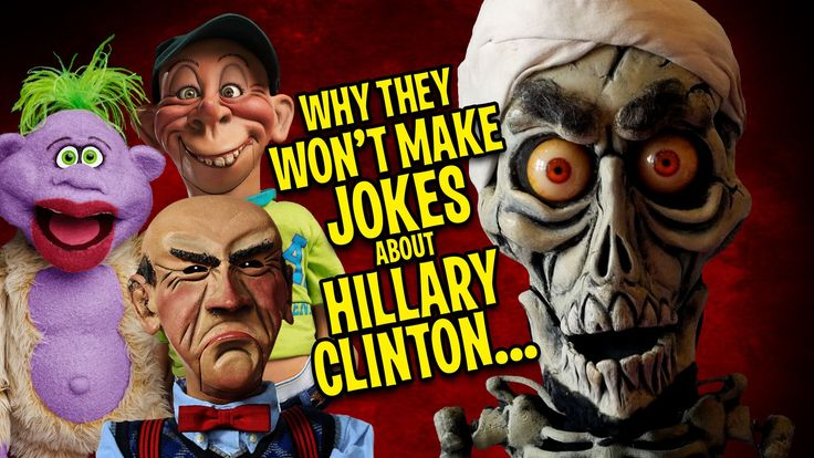Jeff Dunham's puppet friends, Achmed the Dead Terrorist, Walter, Peanut and Bubba J on why they won't make jokes about Hillary.