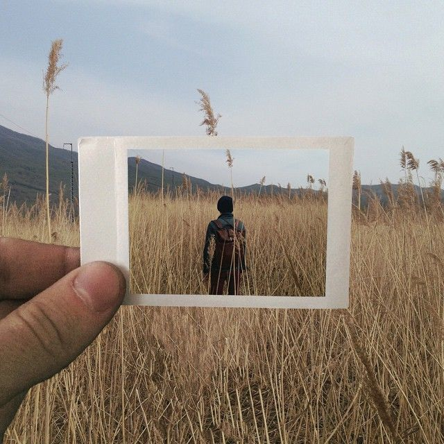 Picture in picture: Ingenious Instagram photos by Maksim Zavialov – THE CULTURE BLOG
