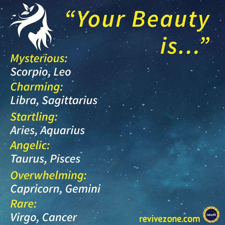 beauty, zodiac signs, aries, taurus, gemini, cancer, leo, virgo, libra, scorpio, sagittarius, capricorn, aquarius, pisces, revivezone, zodiac709 – R Sarr