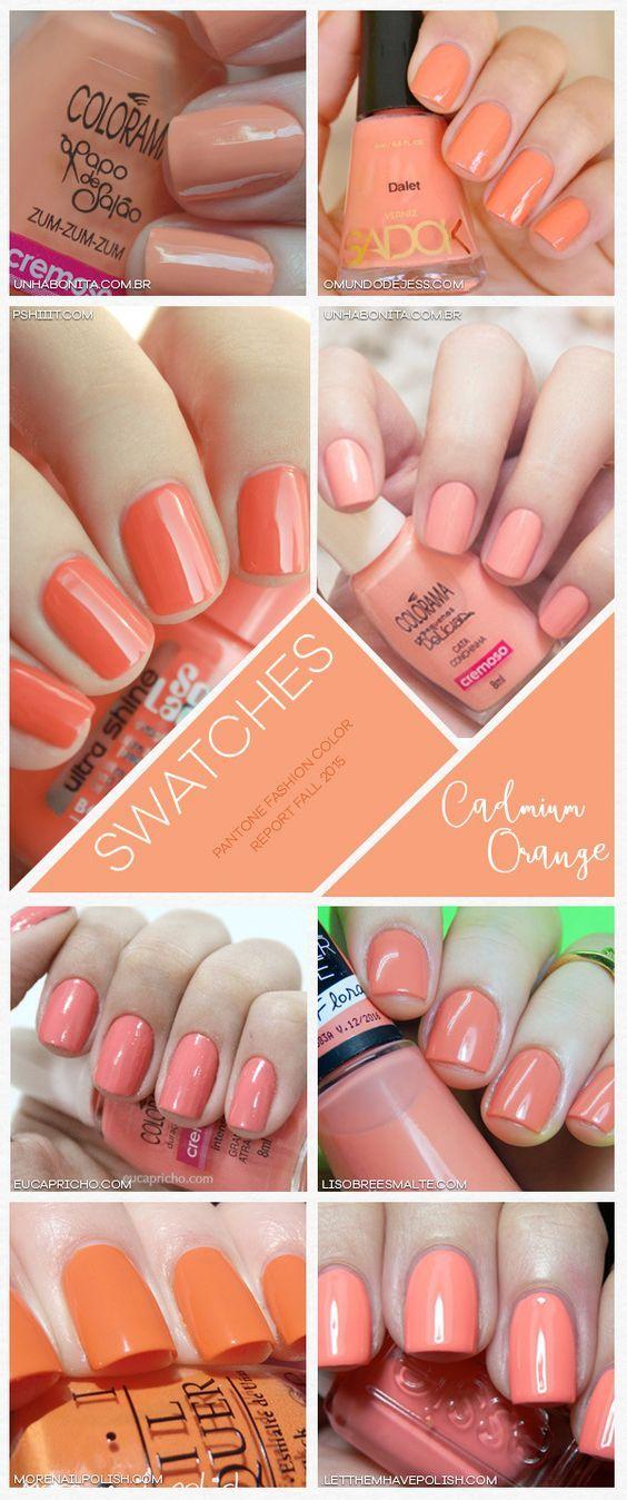 NAGELLACK für den Frühlingsfarbtyp in verschiedenen Apricot, Pfirsich & Orange-Tönen Kerstin Tomancok / Farb-, Typ-, Stil & Imageberatung