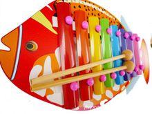 Детские Игрушки Деревянные Игрушки Тропические Рыбы Деревянные Музыкальные Игрушки детские Развивающие Игрушки Подарок для Ребенка Подарок На День Рождения WD016(China (Mainland))