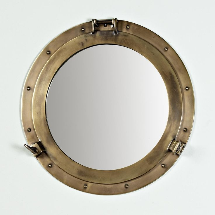 72 best portholes images on pinterest for Porthole style mirror
