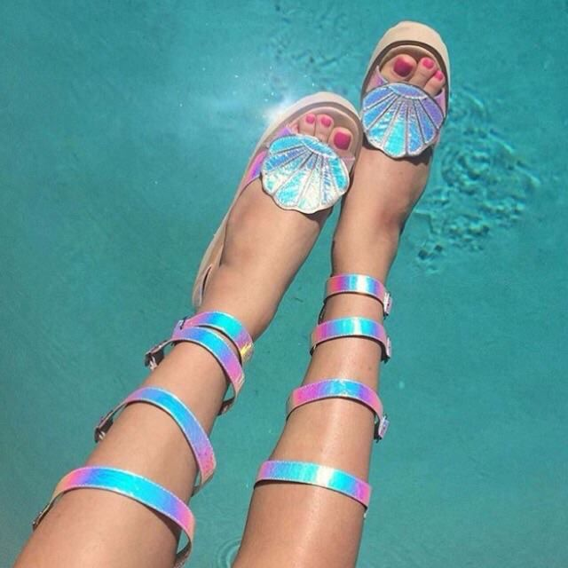 Mermaid shoes x