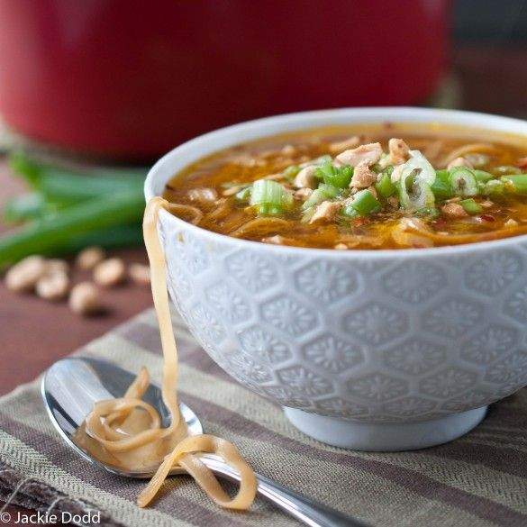 Love that there's a vegan version of this Pad Thai Soup!