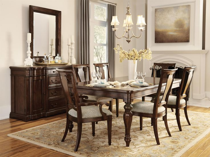 Belfort Signature Edwards Ferry Traditional Leg Dining Table. Room  StyleDining ...