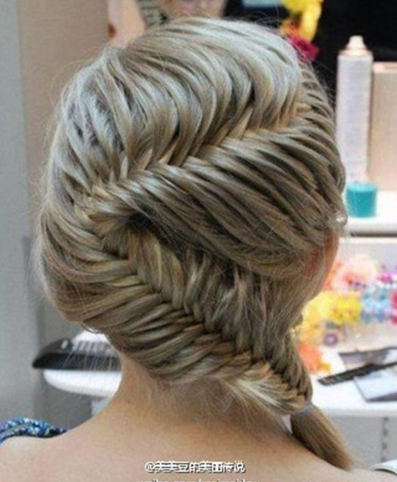 hair style ( i know it looks hard to do it )