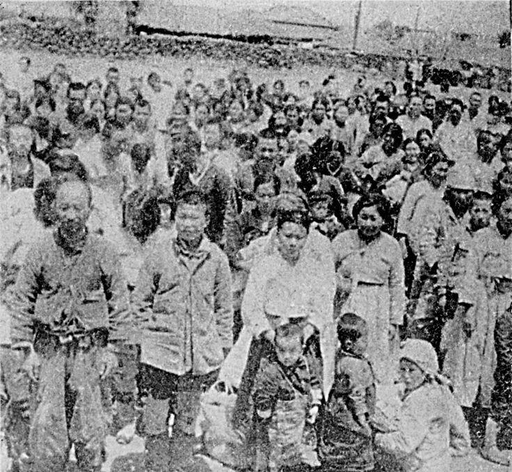 PHOTOS OF THE JEJU UPRISING (APR. 3, 1948). Provided by Gwisook Gwon, Tamla Culture Research Institute in Jeju National University on Jeju Island.