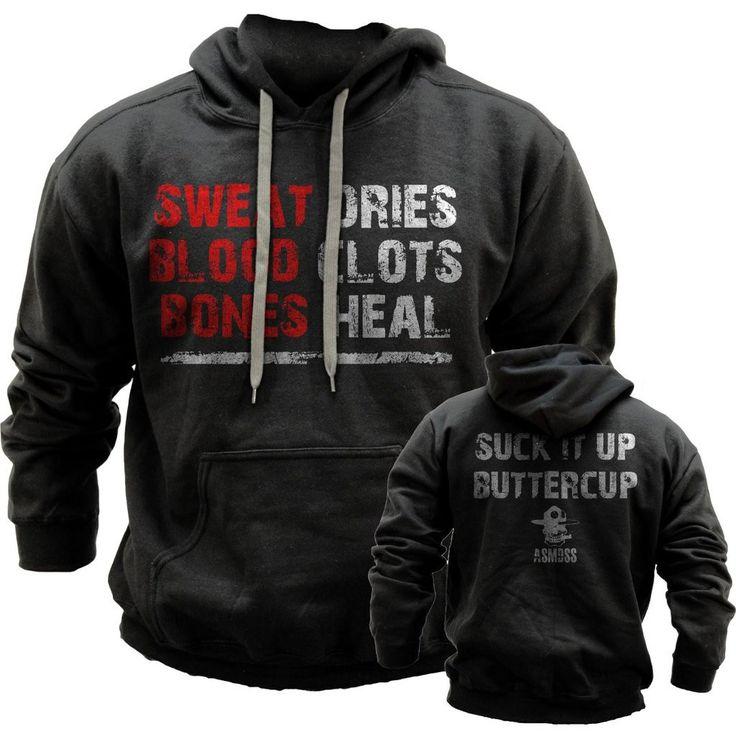 Suck It Up Buttercup- ASMDSS Grunt Style Hoodie Sweatshirt