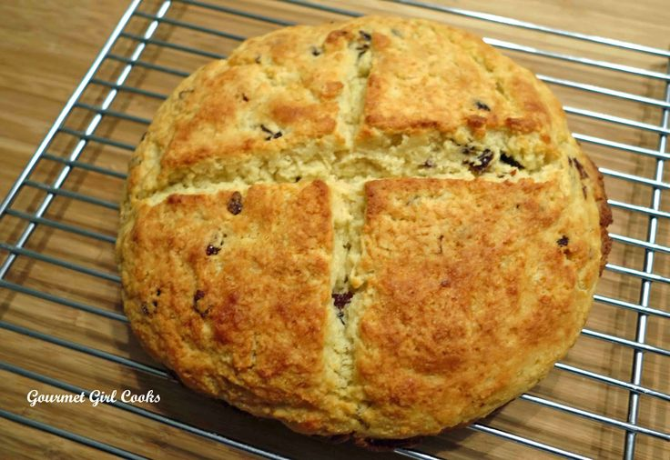 Gourmet Girl Cooks: Irish Soda Bread -- A New Grain-Free ...